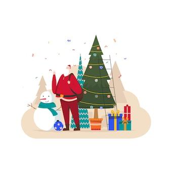 Ilustracja sezon świąteczny