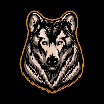 Ilustracja siberian husky