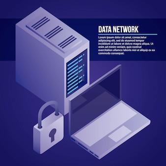 Ilustracja sieci danych