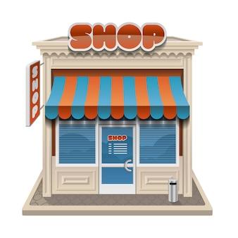 Ilustracja sklepu storefront