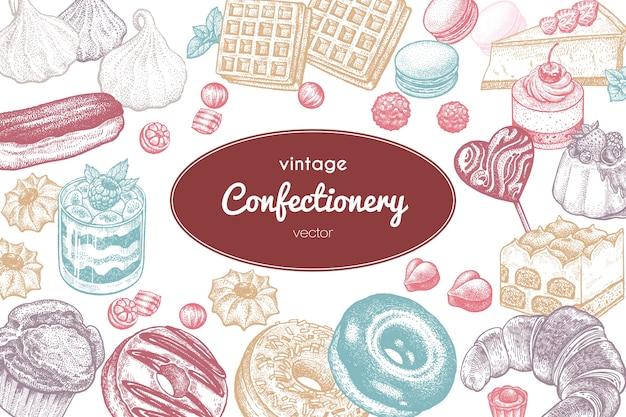 Ilustracja słodycze