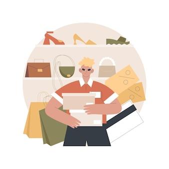 Ilustracja sprzedawcy