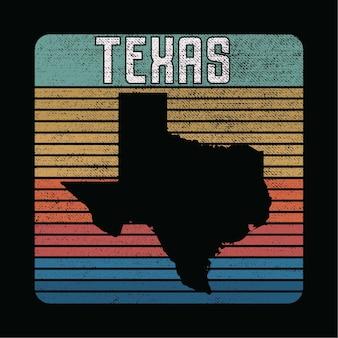 Ilustracja stanu teksas