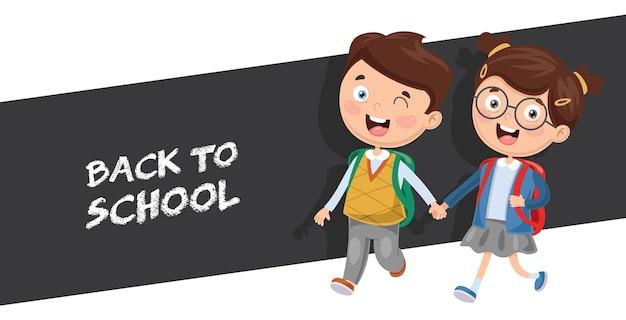 Ilustracja studenta