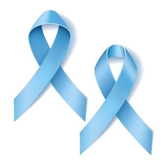 Ilustracja świadomości wstążki raka prostaty