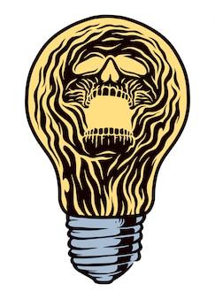 Ilustracja światła ducha
