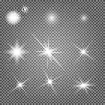 Ilustracja światła gwiazdy