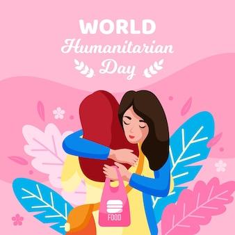 Ilustracja światowego dnia humanitarnego