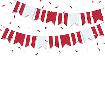Ilustracja święta niepodległości łotwy.
