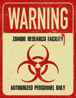 Ilustracja symbol nieczysty zagrożenia biologicznego