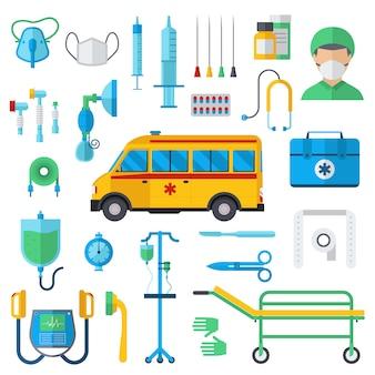 Ilustracja symboli resuscytacji.