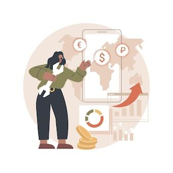 Ilustracja systemu informatycznego podstawowej bankowości