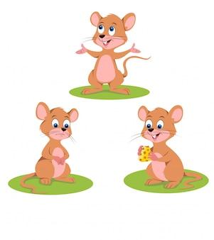 Ilustracja szczura
