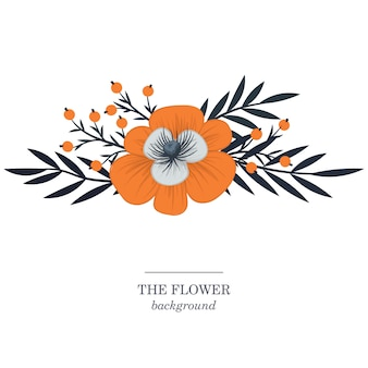 Ilustracja tło kwiaty