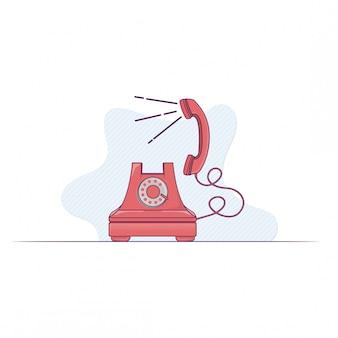 Ilustracja telefoniczna