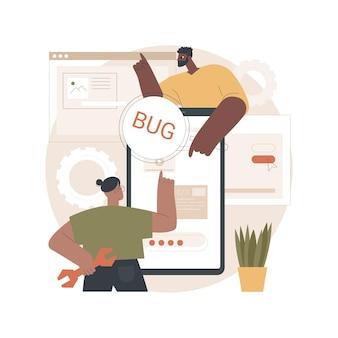 Ilustracja testowania oprogramowania