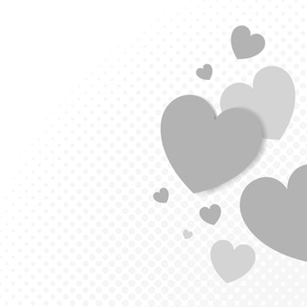 Ilustracja tła serca