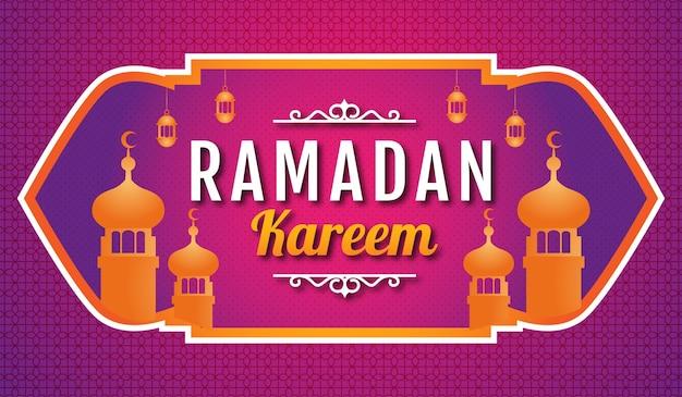 Ilustracja tło ramadan kareem