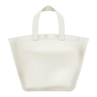 Ilustracja torby na zakupy z materiału tekstylnego eco.
