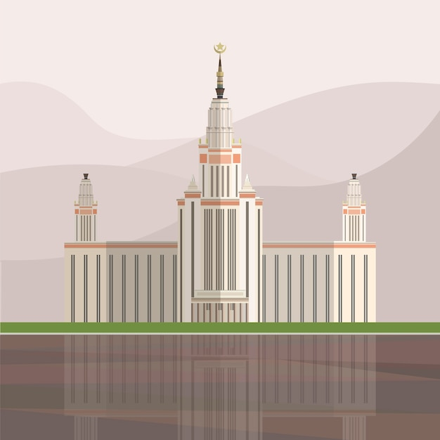 Ilustracja triumph palace