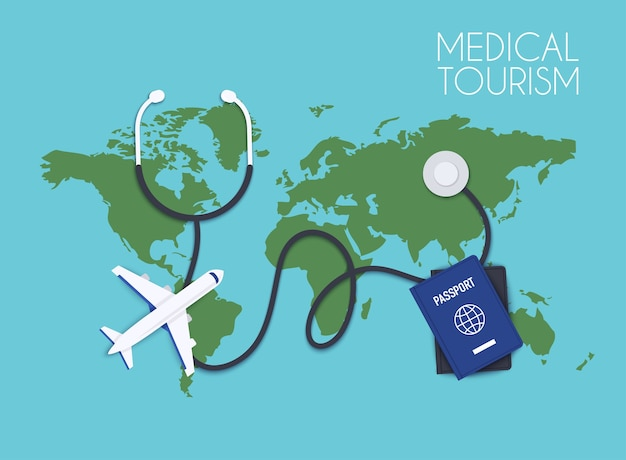 Ilustracja turystyki medycznej