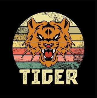 Ilustracja tygrys