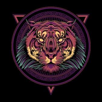 Ilustracja tygrysa