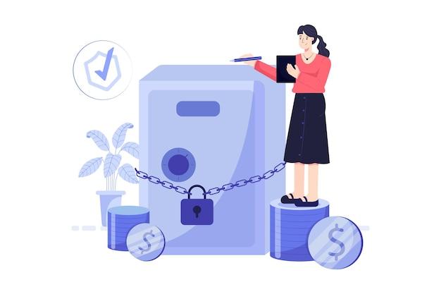 Ilustracja ubezpieczenia inwestycyjnego