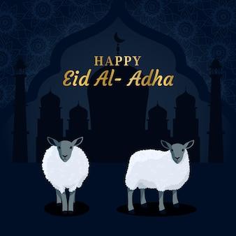 Ilustracja uroczystości id al-adha