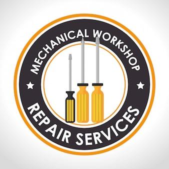 Ilustracja usługi naprawy