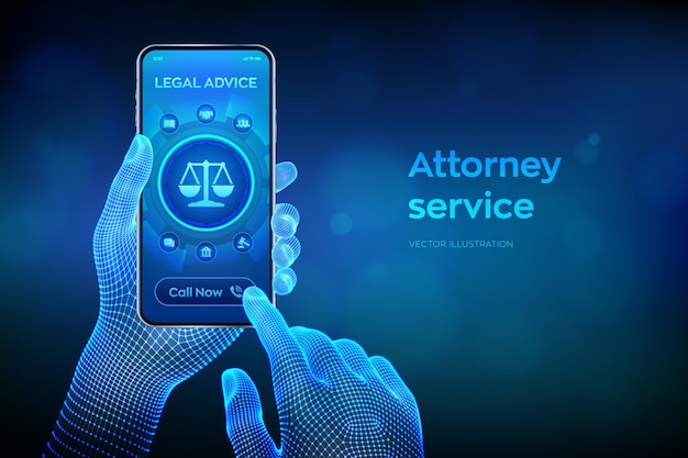 Ilustracja usługi prawnika