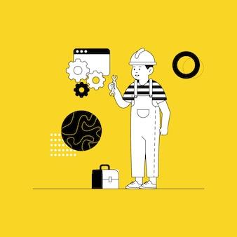 Ilustracja w budowie