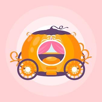 Ilustracja wagon bajki