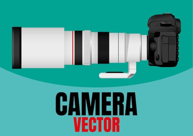 Ilustracja wektorowa aparatu