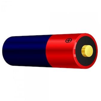 Ilustracja wektorowa baterii