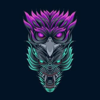 Ilustracja wektorowa bestii