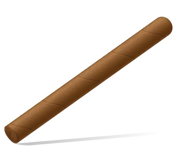 Ilustracja wektorowa cygaro