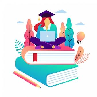 Ilustracja wektorowa edukacji