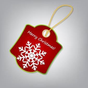 Ilustracja wektorowa etykiety świąteczne