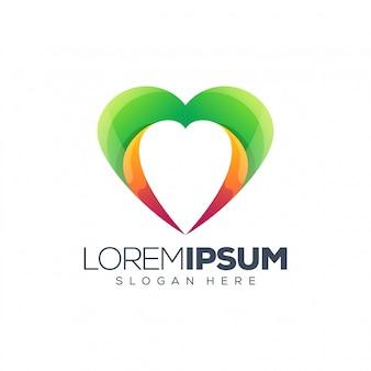 Ilustracja wektorowa logo miłości