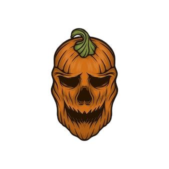 Ilustracja wektorowa maski halloween