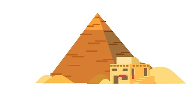 Ilustracja wektorowa piramidy