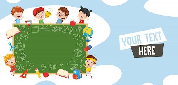 Ilustracja wektorowa studentów