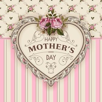 Ilustracja wektorowa szczęśliwy dzień matki
