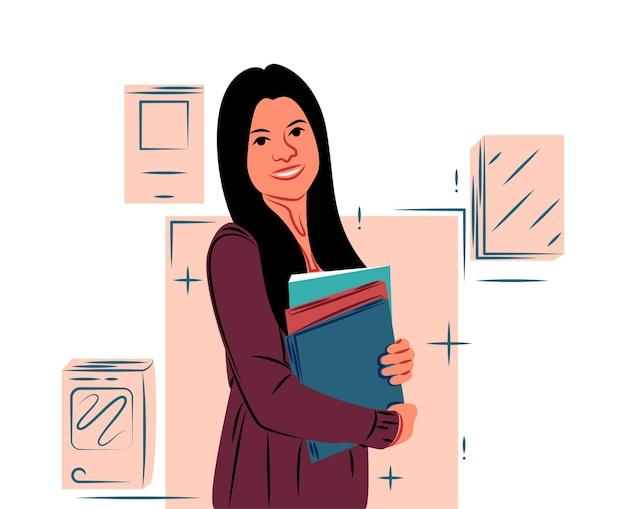 Ilustracja wektorowa w stylu graficznym. sztuka cyfrowa