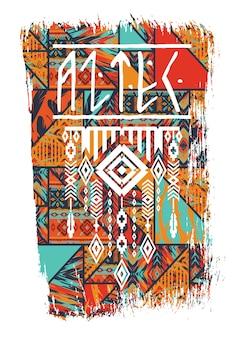 Ilustracja wektorowa z hasłem na t-shirty