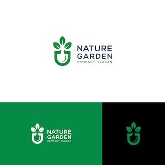 Ilustracja wektorowa zielony ogród