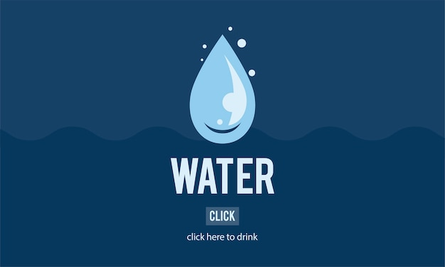 Ilustracja wodny dzień