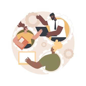 Ilustracja współpracy