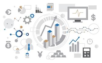 Ilustracja wykresu analizy danych